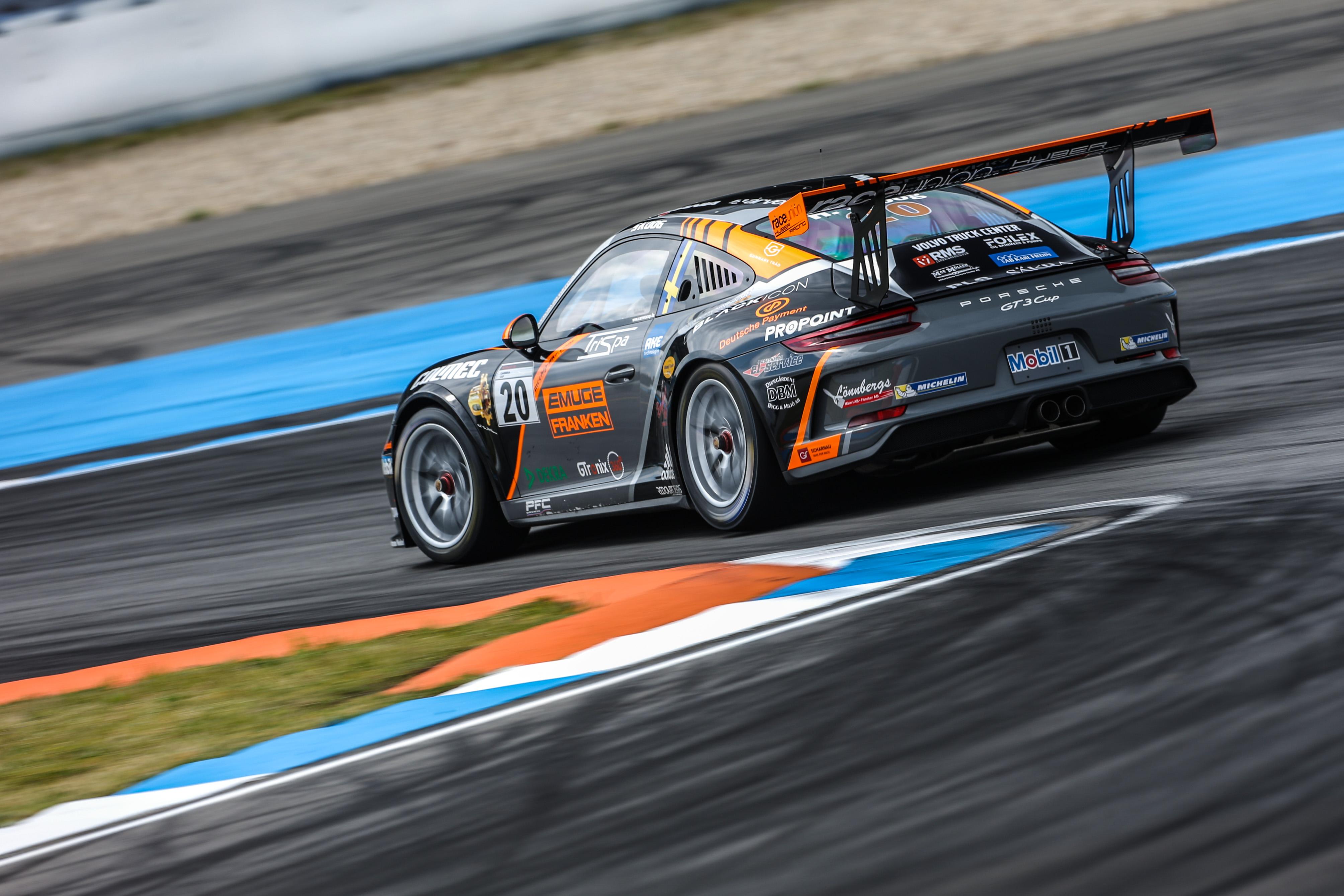Podium für raceunion Huber Racing beim Saisonauftakt des Porsche ...